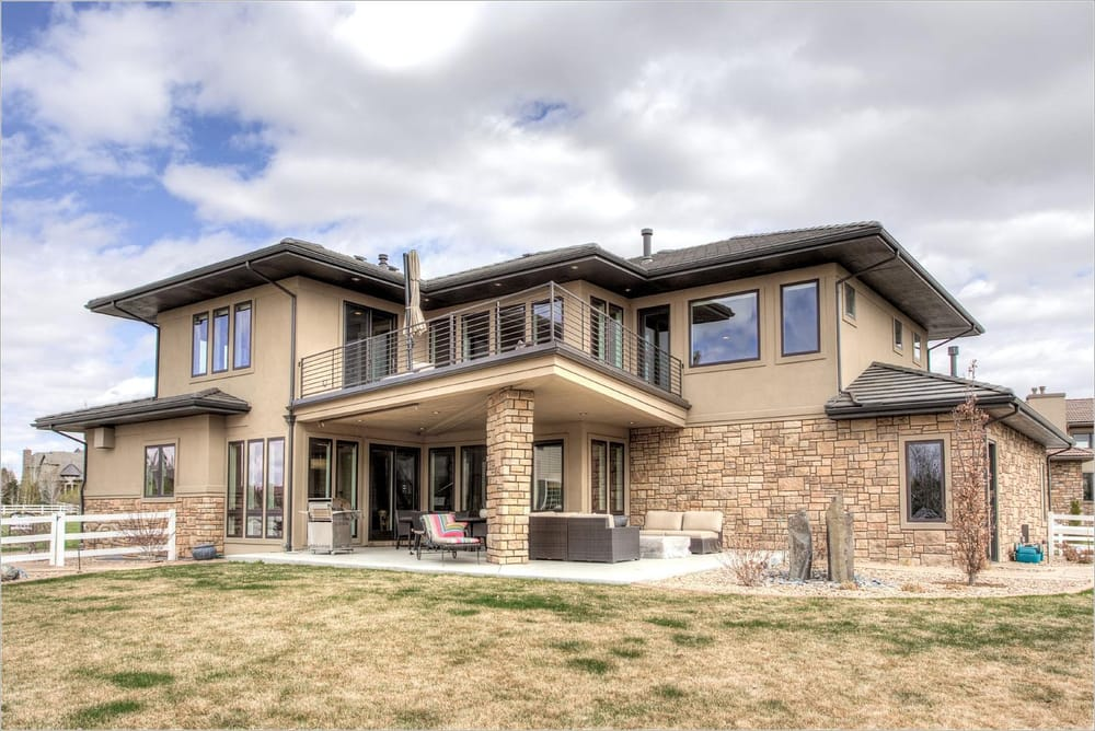 Custom home on open space in westminster colorado at for Custom home builders near me