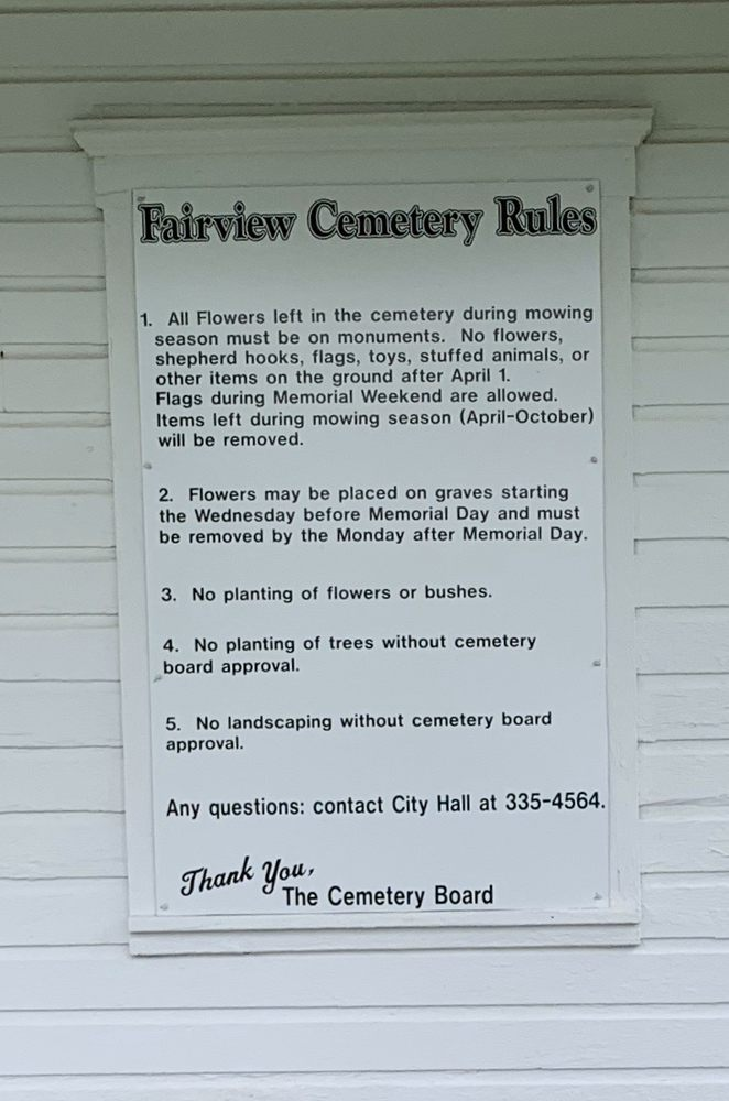 Fairview Cemetary: 272 Steadwell Ave., Amsterdam, NY