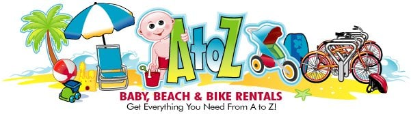 A To Z Baby Beach & Bike Rentals