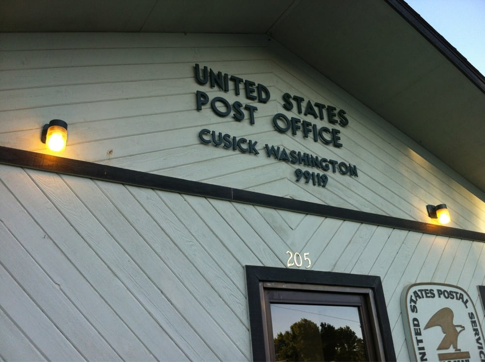 US Post Office: 7632 Portal Way, Custer, WA