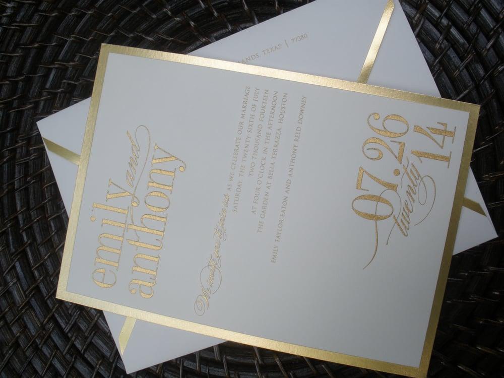 Wedding Invitations William Arthur: Wedding Invitation By Vera Wang/William Arthur