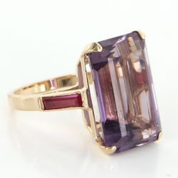 001af6b6a Vintage Amethyst Cocktail Ring. Photo of Sophie Jane Jewels - Torrance, CA,  United States. Vintage Amethyst &