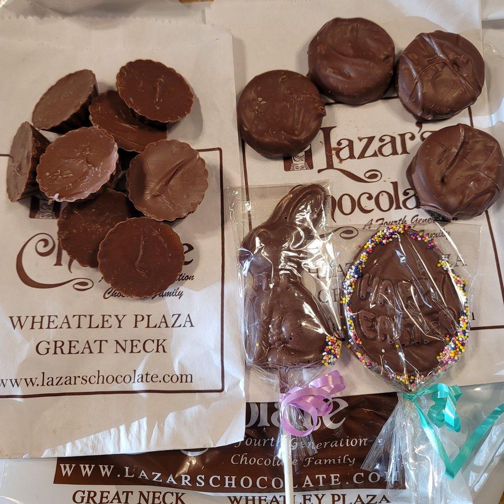 Lazar's Chocolate: 350 Wheatley Plz, Greenvale, NY
