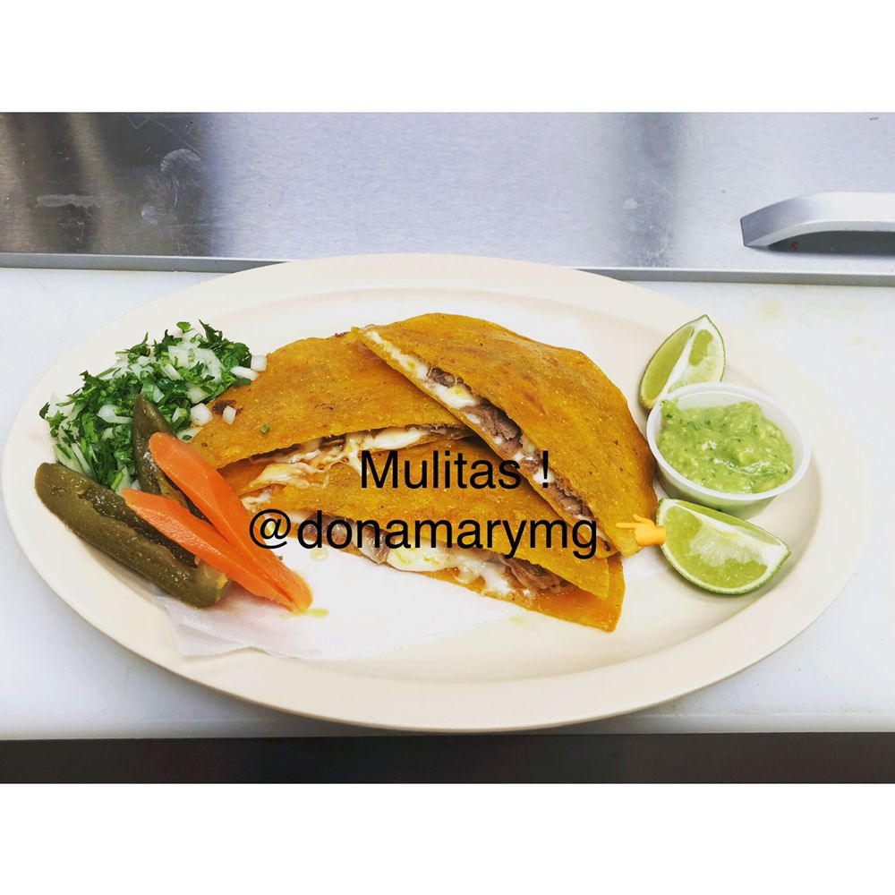Food from Dona Mary Mexican Grill