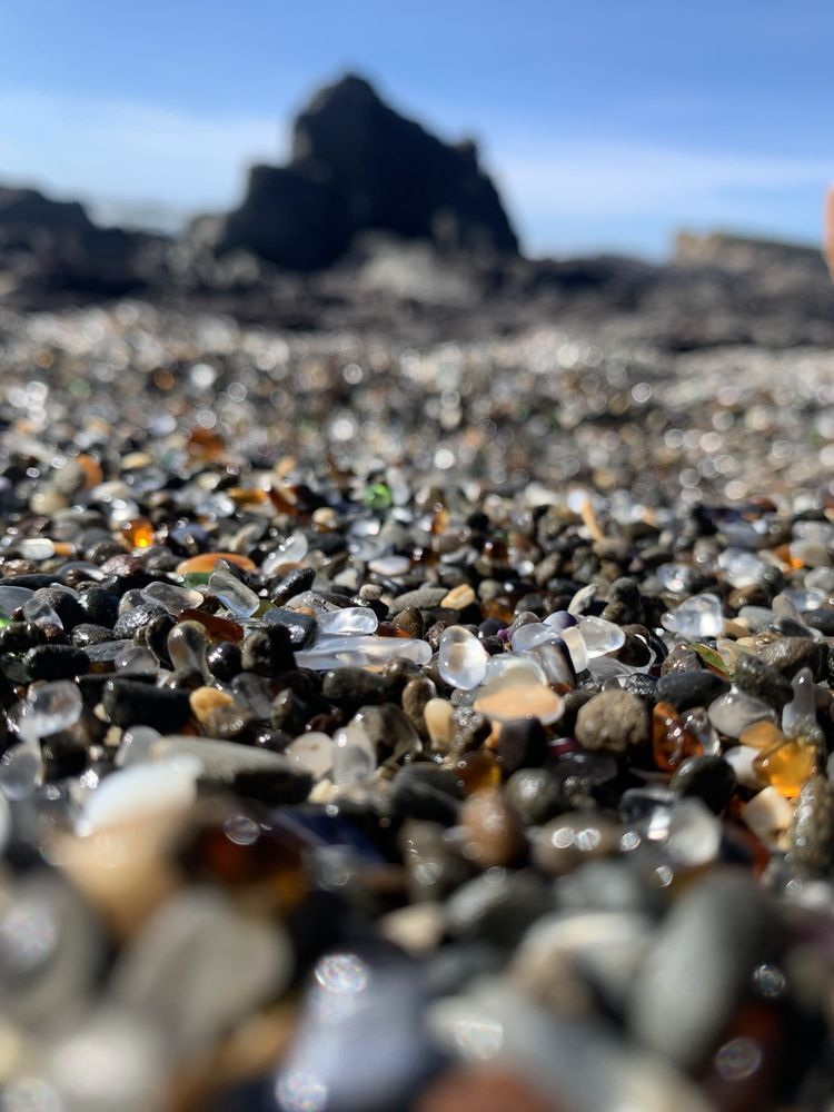 Glass Beach: Fort Bragg, CA