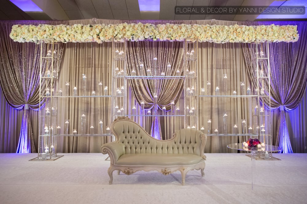 indian wedding stage setup picture at bobak s signature events