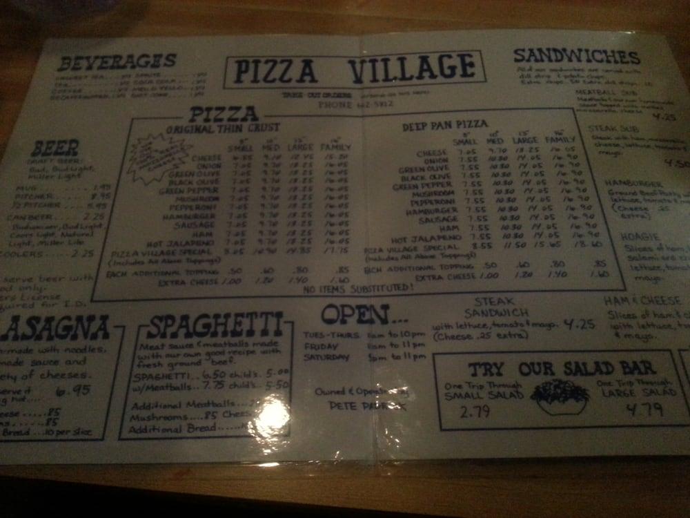 Pizza Village: 1311 S Madison St, Whiteville, NC