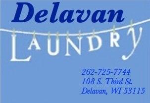 Delavan Laundromat: 108 S 3rd St, Delavan, WI