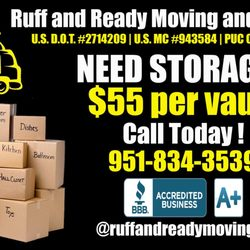 Photo Of Ruff And Ready Moving Temecula Ca United States Call Today
