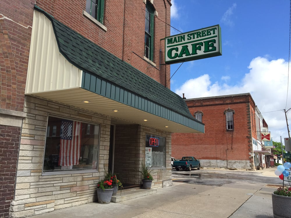 Main Street Cafe: 101 S Main St, Avon, IL