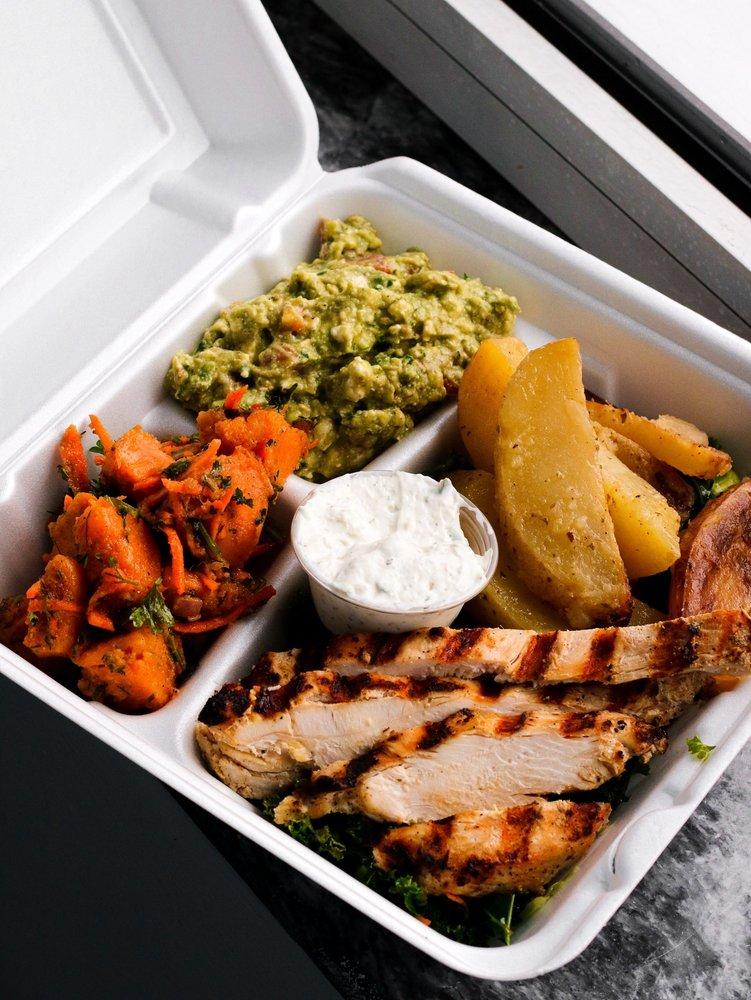 The Farm Grill & Rotisserie: 40 Needham St, Newton, MA