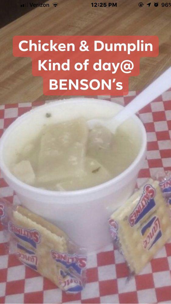 Bensons Eats & Treats: 319 S Palestine St, Athens, TX