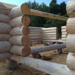 Photo Of Tucker Mountain Log Homes Sullivan Me United States