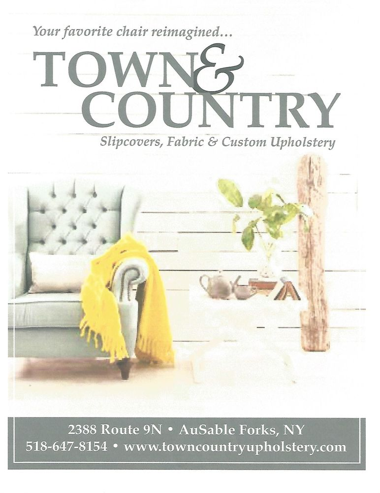 Town & Country Upholstery: 2388 Route 9 N, Au Sable Forks, NY