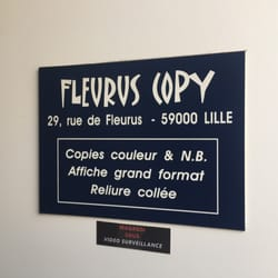 Fleurus Copy Printing Services 29 rue de Fleurus Centre