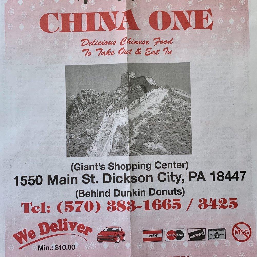 China One: 1550 Main St, Dickson City, PA