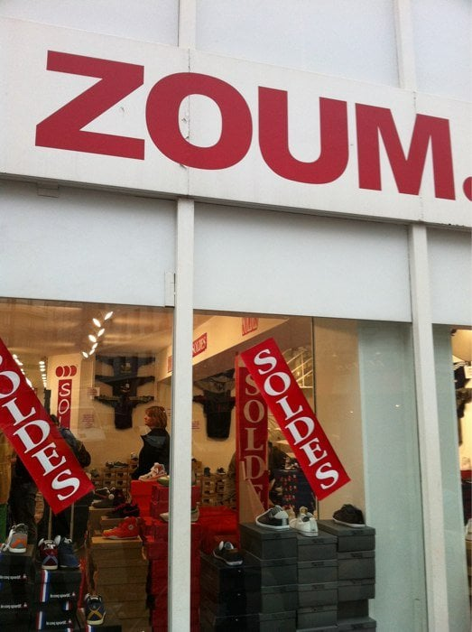 Zoum ferm magasins de chaussures 155 avenue du for Garage du faubourg le quesnoy