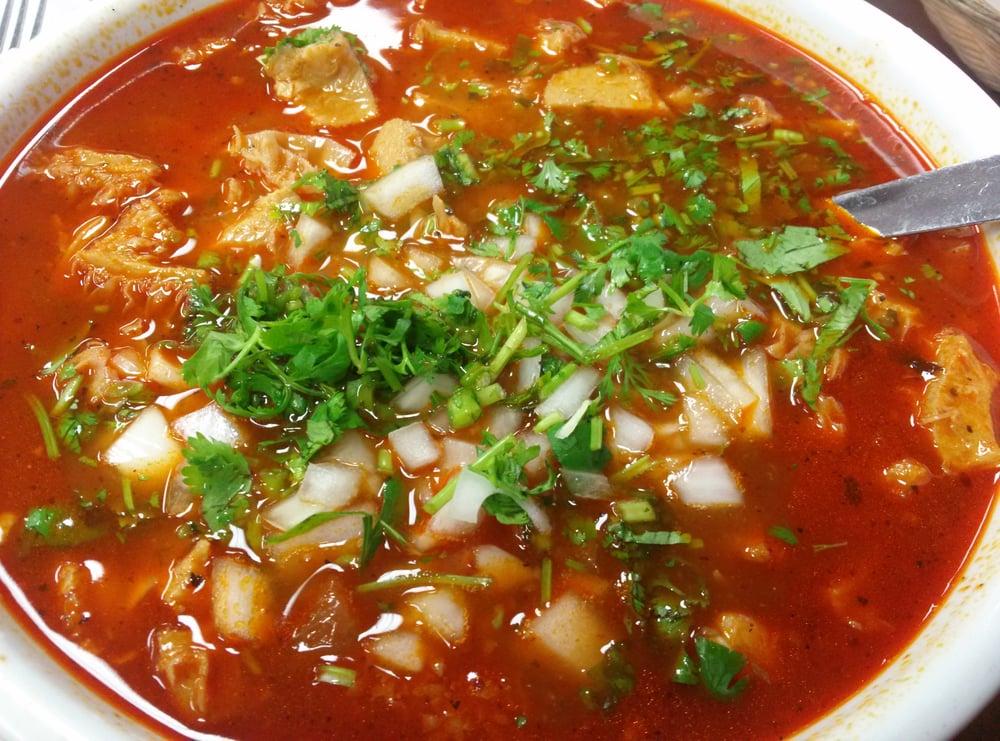 Large bowl of menudo $11.95