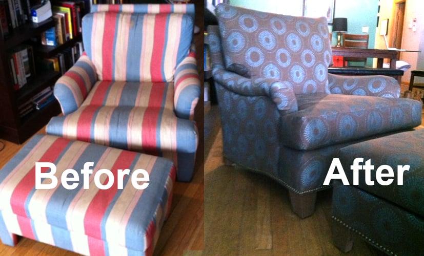 Designer Workroom Furniture Reupholstery 1018 N
