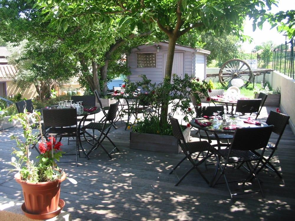 Le jardin de l estagnol 12 anmeldelser fransk 1 rue for Le jardin carcassonne