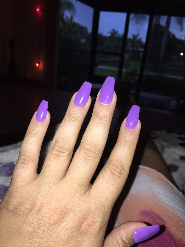 Vivian is the best these are my nails that she has maintained to get ...
