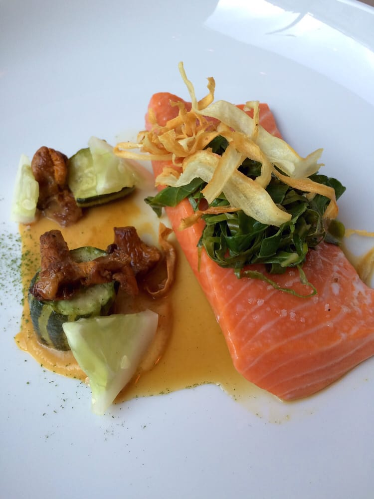 Photo of AQ Restaurant & Bar - San Francisco, CA, United States. King salmon