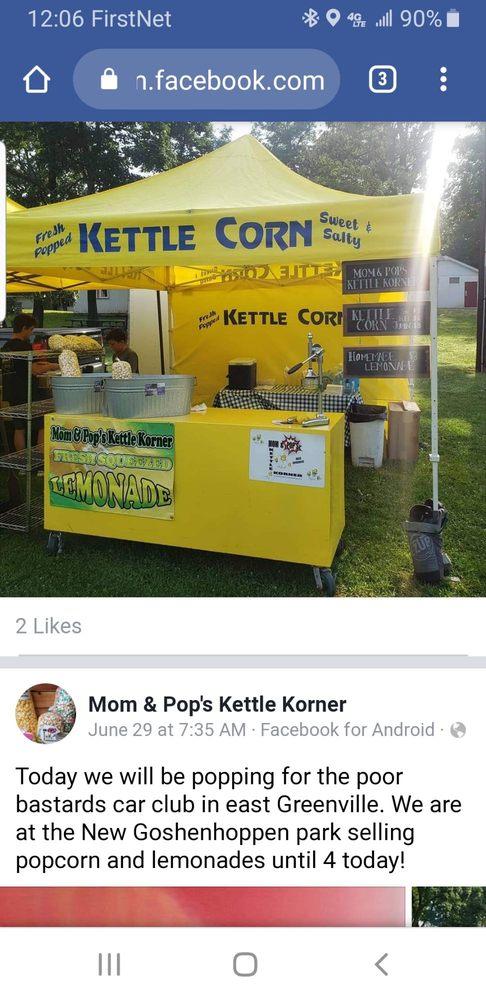 Mom & Pop's Kettle Korner: 8502 Memorial Dr, Green Lane, PA