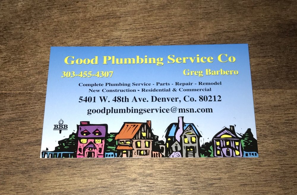 Good Plumbing Service: 5401 W 48th Ave, Denver, CO