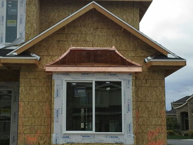 Pre Fabricated Copper Bay Window Roof Yelp