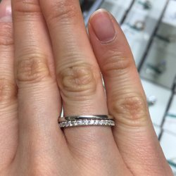Photo Of Magnolia Fine Jewelry New York Ny United States Trying On