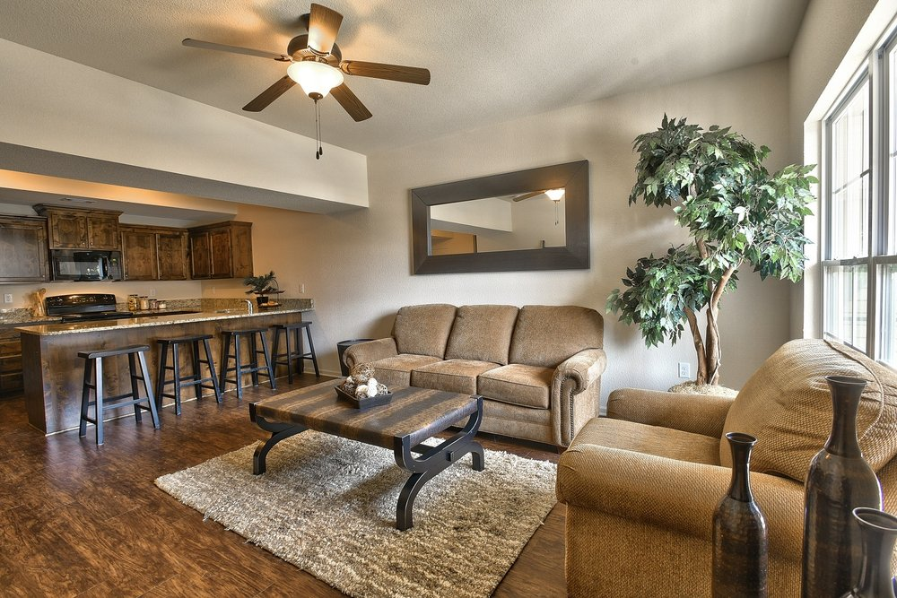 Parkview A Brown Tan Color Scheme Living Room Yelp