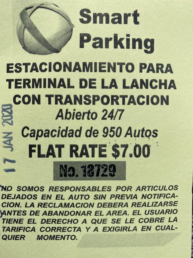 Smart Parking: Barnes Road S/N, Ceiba, PR