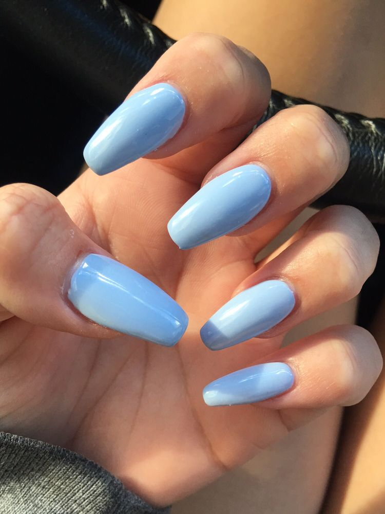Mood changing polish! HOT: sky blue COLD: light gray (# m18) Not the ...