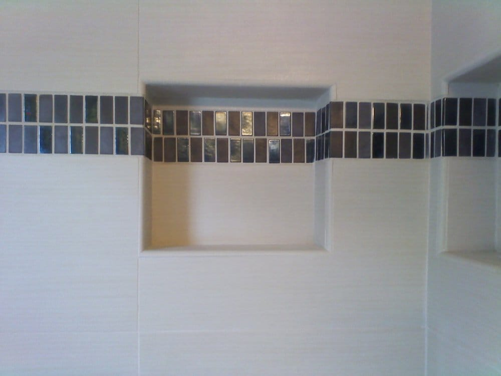 cutting bathroom tile ceramic tile shower wall cut outs bathroom remodeling yelp 12613 | o