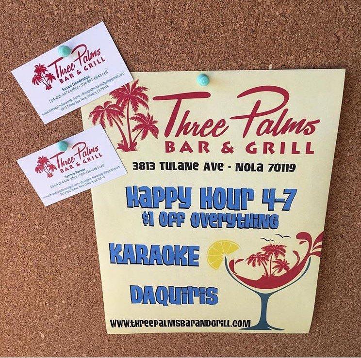 Photo of Three Palms Bar & Grill - New Orleans, LA, United States