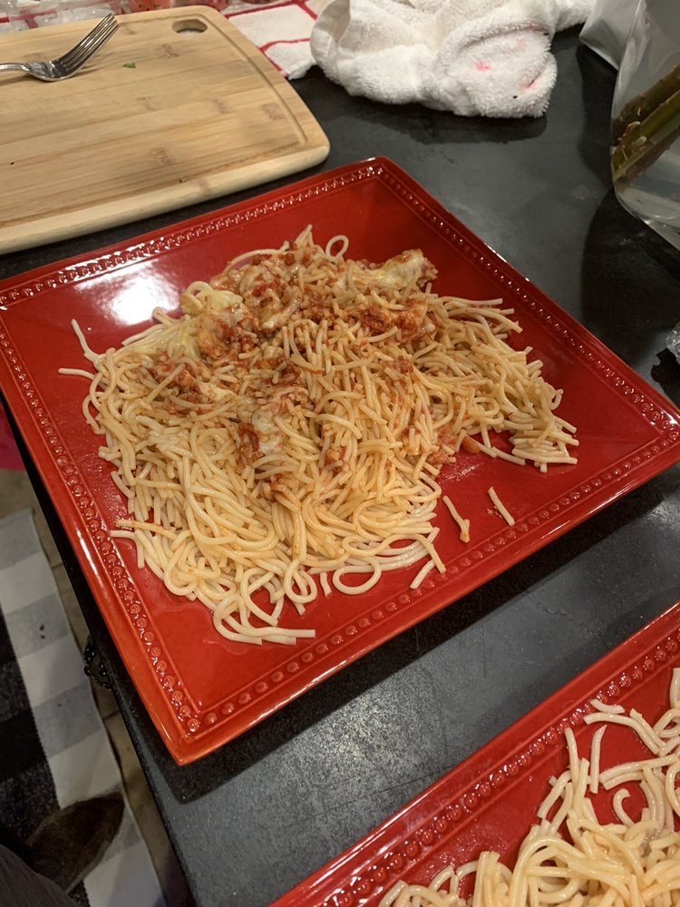 Pino's Italian Restaurant: 15498 N James Madison Hwy, Dillwyn, VA