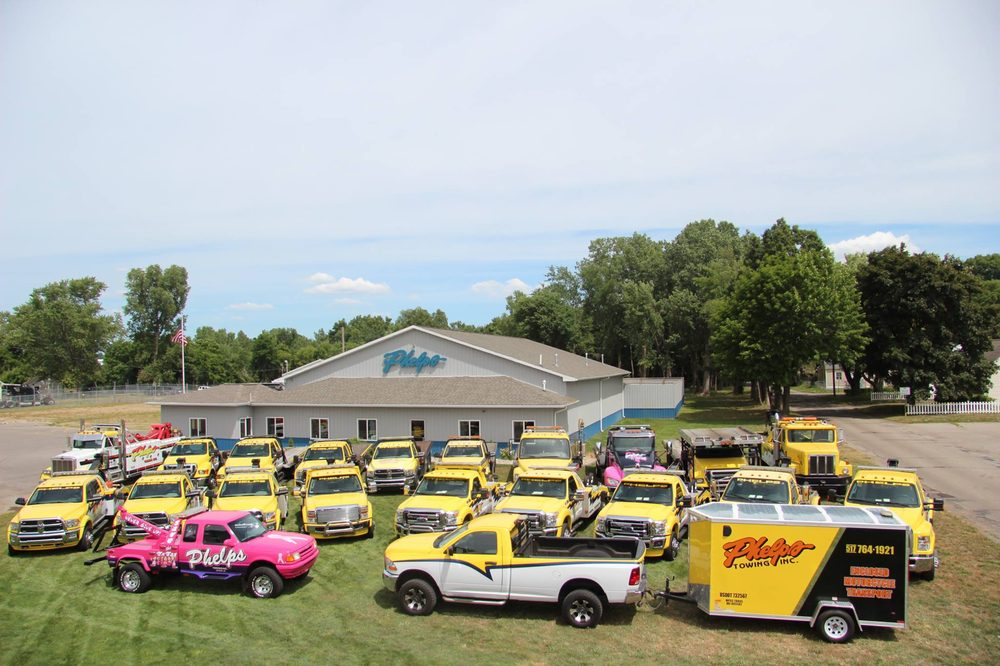 Phelps Towing: 4257 Page Ave, Michigan Center, MI
