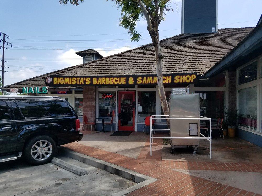 Bigmista S Barbecue Sammich Shop Long Beach Ca