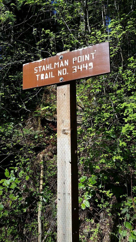 Stahlman Point Trail: Detroit, OR
