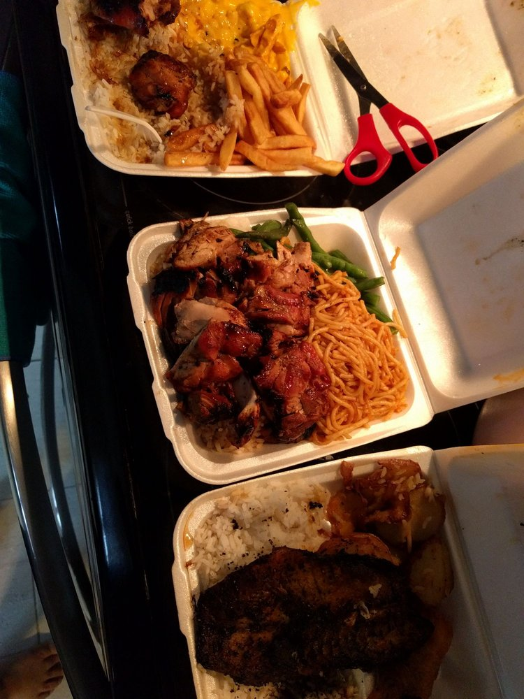 Food from Bourbon Grill