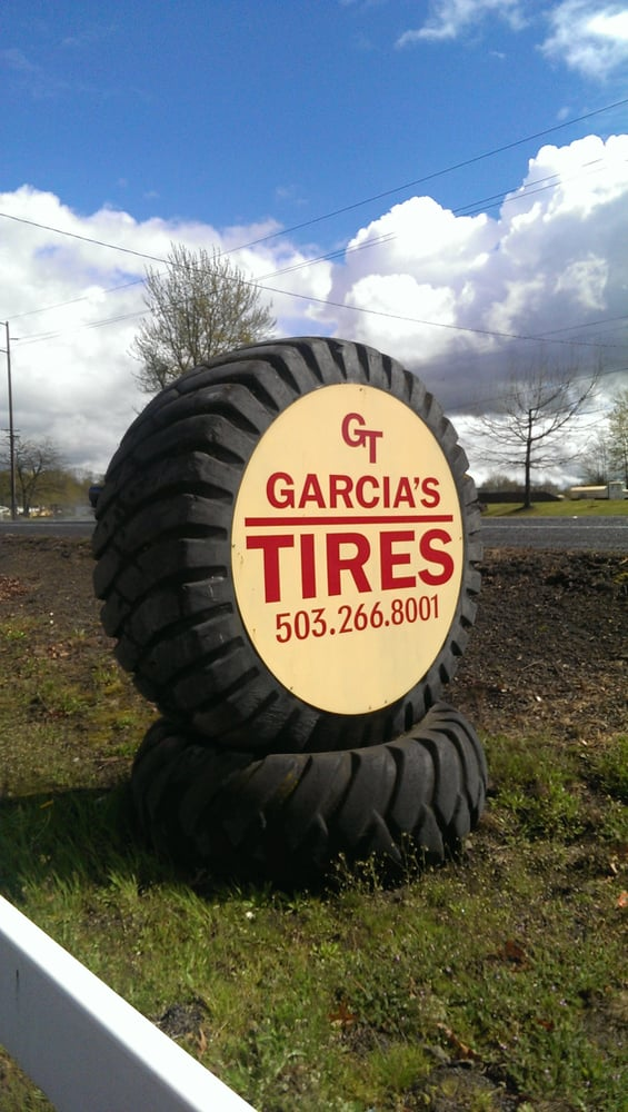 Garcia's Tires: 24395 S Hwy 99 E, Canby, OR