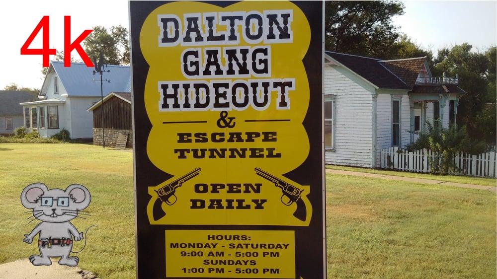 Dalton Gang Hideout: 502 S Pearlette, Meade, KS