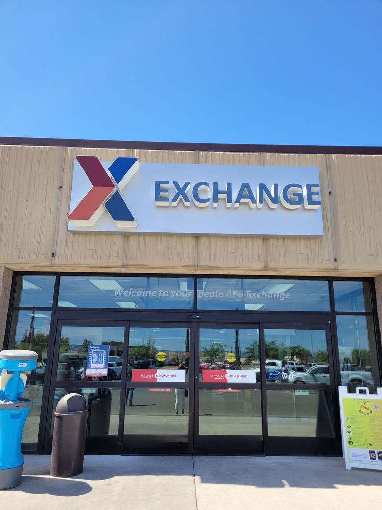 Beale Exchange: 17600 25th St, Beale AFB, CA