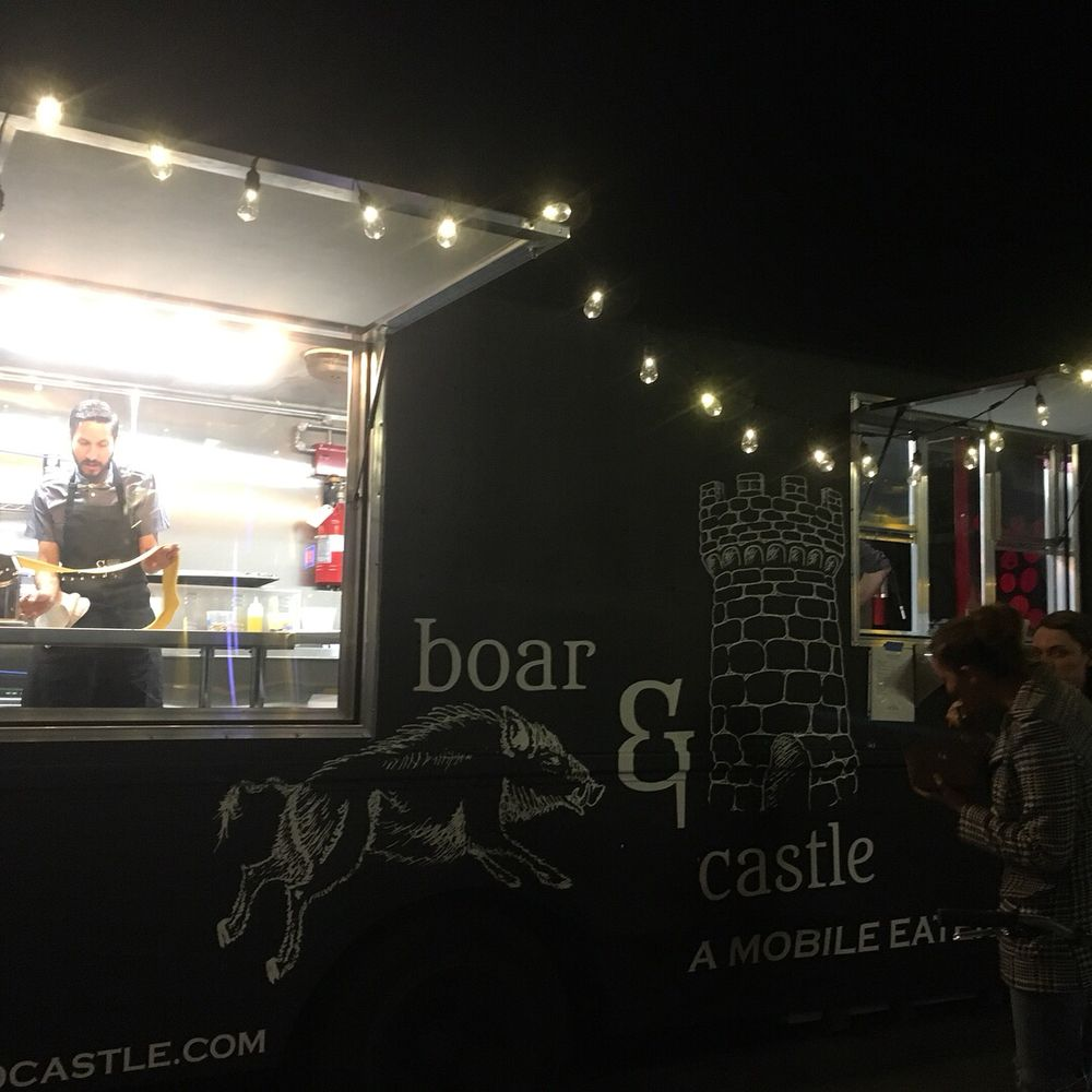 Boar & Castle Mobile Eatery: Denver, CO
