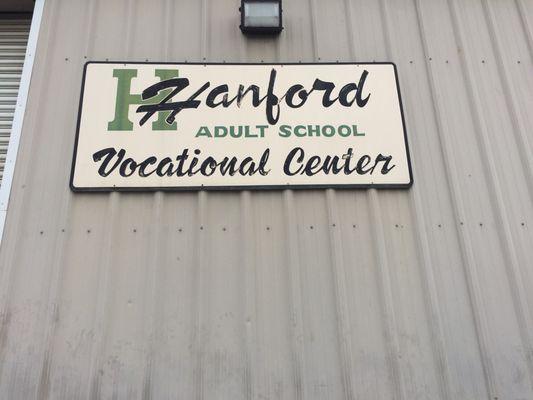 This Adult hanford school