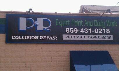 P & R Auto Repair & Sales