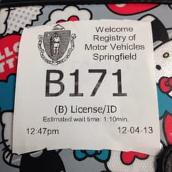 Photo of Springfield Rmv - Springfield, MA, United States. Hope it's faster than