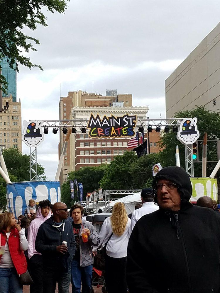 Main St. Fort Worth Arts Festval
