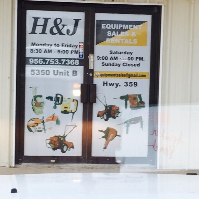 H & J Equiptment Sales and Rentals: 5673 State Hwy 359, Laredo, TX
