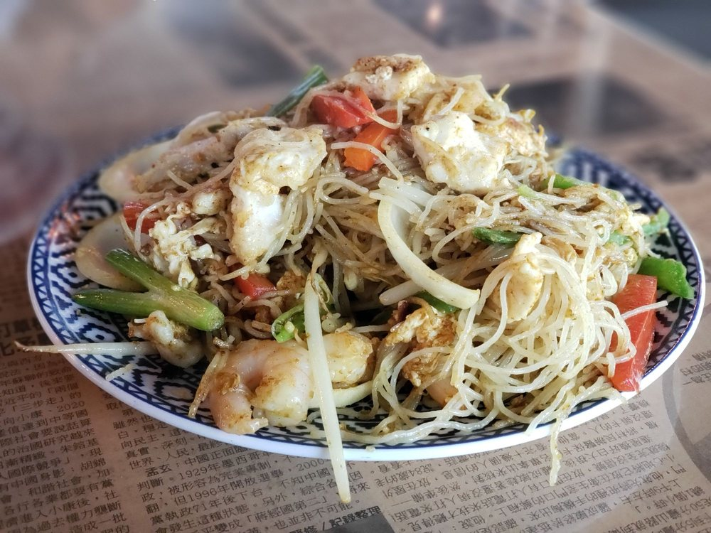 Food from Hawkers Asian Street Food